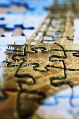Paris Puzzle (explore) (Carlos Lubina) Tags: macro eiffeltower puzzle toureiffel eiffelturm macromondays beginswiththeletterp