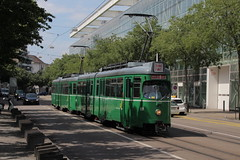 639 (KennyKanal) Tags: tram basel grn bvb basler verkehrsbetriebe dwag schienenfahrzeug drmmli