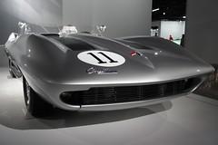 Petersen Automotive Museum (jon_ca) Tags: cars chevrolet losangeles stingray corvette 1959 racer petersenautomotivemuseum xp87 preciousmetalcollection
