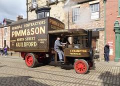 Mann Steam Wagon No.1120 (Terry Pinnegar Photography) Tags: museum vintage wagon traction engine steam beamish mann cobbles 1120 countydurham u3781