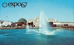 Vintage Expo 67 Postcard, The 1967 Montreal World's Fair - General View From The Place Des Nations (France1978) Tags: montreal worldsfair expo67 vintageexpo67 the1967montrealworldsfair