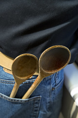 Chef Brent (Joseph Austin) Tags: cook chef ready spoons wodden woodenspoons