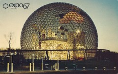 Vintage Expo 67 Postcard, The 1967 Montreal World's Fair - The Pavilion Of The United States (France1978) Tags: montreal worldsfair expo67 vintageexpo67 the1967montrealworldsfair
