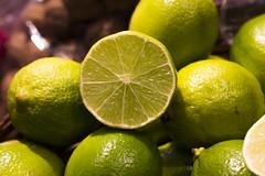 Still life (danielebenvenuti) Tags: stilllife food verde green fruit reflex lemon bokeh citrus lime frutta limone cibo trama agrumi canon700d