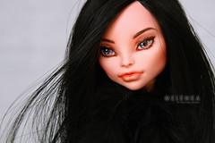 Widow (mrs.Melenka) Tags: black monster high doll dragon ooak cam custom repaint customdoll melenka createamonster monsterhigh