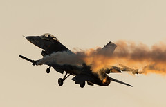 1509_lens_4150 (dimred1) Tags: sunset sky france plane lens airplane fighter aircraft jet airshow f16 viper pilot jetfighter airshows militaryaviation militaryaircraft afterburner fightingfalcon solodisplay sunsetairshow belgiansolodisplay