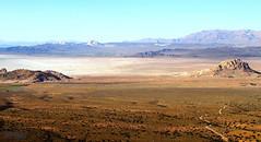 Bakhtegan Lake (2) (Mahmoud R Maheri) Tags: trees mountain lake clouds landscape spring iran hills bushes drylake fars neyriz bakhteganlake