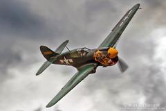 IMG_9249 (mvonraesfeld) Tags: show flying fighter texas aircraft aviation air wwii legends planesoffame p40 warhawk aleutiantiger