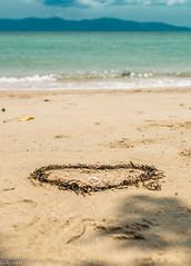all you need is love (Robert Benatzky Photography) Tags: love beach nature beautiful strand thailand heart natur herz liebe schn totallythailand