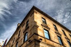 Miro al Cielo (I Look at the Sky) (Dibus y Deabus) Tags: espaa architecture clouds canon spain arquitectura gijn edificio asturias cielo nubes 7d gijon hdr buiding ayuntamientodegijon