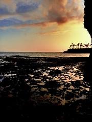 Pools of Fire #lagunabeach #california (tj_arriaga) Tags: california sunset sky laguna orangecounty tidepools beachsunset rockybeach lagunabeach oceansunsets oceansky