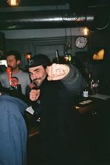 Furr in London (JamesCameronThomson) Tags: london 35mm canon ae1 trix londoneye bigben southbank emirates yashicat5 skate t5 agfa arsenal pimlico c41 keithwalsh welshtommy jackkirtley staybrokeshootfilm foreigneye furrskateboards wearfurrnotfur