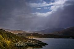 scotland tour 2016 (andrebelg) Tags: lake snow water clouds scotland loch sunray