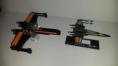 20160424_001933 (p13c30fch33s3) Tags: starwars lego mini xwing poes resistance t70 30278