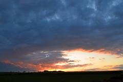 The Hole in the Sky Sunset (AndyorDij) Tags: uk sunset england skyscape unitedkingdom rutland 2016 empingham highfieldsfarm