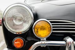 Full compliment (GmanViz) Tags: color detail 1969 car volkswagen nikon automobile bumper chrome headlight karmannghia foglight gmanviz d7000