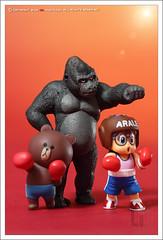 Flight !!! (gqhaha) Tags: bear brown toy dr line 7d orangutan boxing slump tse90 gqhaha