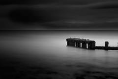 Minnis Bay (Obaid BD) Tags: longexposure sea blackandwhite bw seascape bird dark landscape seaside leefilter leebigstopper