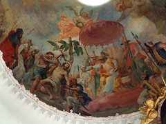 Martyrium des Hl.Sebastian (edgarhohl) Tags: saint bayern sebastian gemlde hlsebastian