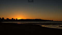 San Lorenzo (danielfi) Tags: sunset costa beach atardecer coast san gijn ngc asturias playa lorenzo ocaso asturies xixn