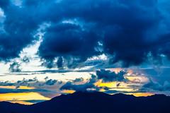 Vivid (Carl Cohen_Pics) Tags: sunset arizona sky santacruz mountain colors clouds canon spring gilariverindiancommunity sierraestrellamountains