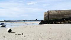 Low tide Portsall harbour (patrick_milan) Tags: sky port sand brittany harbour tide bretagne portsall ploudalmezeau