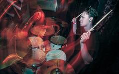 Underestimate 27 (1 of 1) (zackeastwood04) Tags: ohio house drag drums one long exposure hand drum flash drummer drumming cymbals thompson underestimate mapex sabien ziljian ddrum soultone