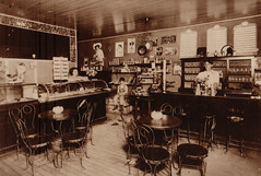 Soda Shop Interior