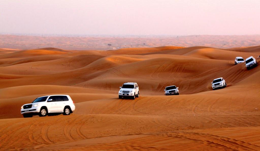 khám phá sa mạc Dubai