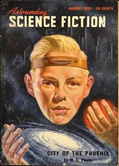 Astounding Science Fiction Vol. 47, No. 6  (August, 1951).  Cover Art by Van Dongen (lhboudreau) Tags: portrait phoenix illustration magazine drawing coverart illustrations drawings pulpfiction sciencefiction pulp magazines pulpmagazine pulpcover headband 1951 magazineart magazinecover pease magazinecovers astounding blondhair pulps vandongen pulpcovers vintagemagazine vintagemagazines pulpart pulpmagazines astoundingsciencefiction astoundingstories hrvandongen classicsciencefiction vintagepulp astoundingmagazine cityofthephoenix sciencefictionstories streetsmith august1951 streetandsmith vintagepulpmagazine vintagepulps vintagepulpmagazines volume47number6 mcpease