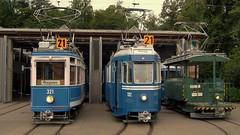 Tram Museum Zürich Museumslinie 21 (hrs51) Tags: public museum switzerland suisse 21 swiss zurich transport tram zürich streetcar svizzera tramway strassenbahn tmz trammuseum museumsbahn museumslinie burgwies