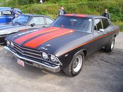 Chevrolet Chevelle 4d 1969 (Zappadong) Tags: auto classic chevrolet 1969 car automobile voiture chevelle coche classics oldtimer oldie 4d carshow youngtimer automobil 2015 herten oldtimertreffen zappadong