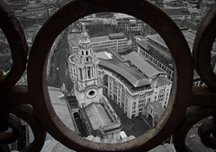 The View from St. Paul's (Ludvius) Tags: england green london st pauls ludovicophotography wwwludovicophotocom