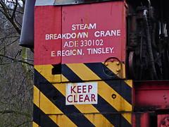 Crane c (Jecurb) Tags: grosmont nymr northyorksmoors eskvalley