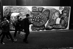 Street Harajuku  Tokyo (Julien Mailler) Tags: world street travel people white black men japan wall painting asian japanese tokyo julien asia harajuku nippon asie japon nihon japonais nationalgeographic asiatique catstreet reflectionsoflife lovelyphotos jules1405 unseenasia earthasia mailler tokyote