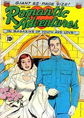 Romantic Adventures 22 (Michael Vance1) Tags: woman man art love comics artist romance lovers dating comicbooks relationships cartoonist anthology