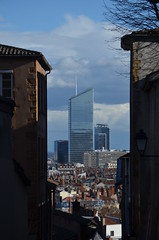 DSC_0919 (Samolymp) Tags: skyline skyscraper tour lyon des arrondissement montée 5e 3e incity partdieu oxygène carmes déchaussées