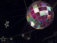 Big Bauble and Stars in Carnaby St, Xmas London 2015 (Cybermyth13) Tags: christmas uk decorations england london night shopping stars lights evening globe carnabystreet carnaby baubles londonist 2015