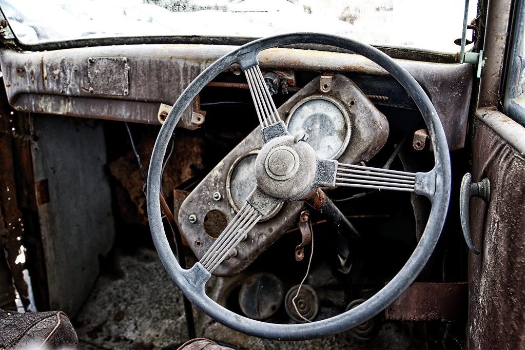 The World\'s Best Photos of abandoned and dashboard - Flickr Hive Mind