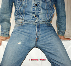 self2892 (Tommy Berlin) Tags: men jeans levis jeansjacket 501