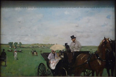 Degas, At the Races in the Countryside, 1869