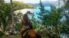 Paradise from a horseback