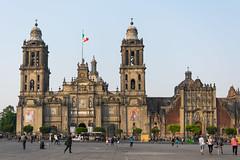 Catedral de México - Zócalo - Mexico city (TLand74) Tags: mexico nikon mexicocity place catedral mexique zocalo mexicodf distritofederal catedraldemexico d5300 nikond5300