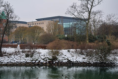 Malm library (Maria Eklind) Tags: winter snow nature se europe sweden urbannature sverige malm sn buidling cityview skneln