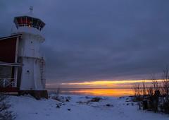 January blues (Joni Mansikka) Tags: winter sunset sea sky lighthouse seascape nature clouds suomi finland landscape coast colours outdoor horizon january balticsea shore pori tamronspaf1750mmf28xrdiiildasphericalif