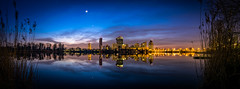 Vienna DC at night (_gate_) Tags: vienna wien life street city urban tower art water river austria dc sterreich nikon wasser europa europe cityscape c eu sigma stadt fluss 1770 danube donau dc1 alte kagran at d5300