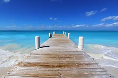 Providenciales (russ david) Tags: ocean beach island islands dock waves january turks caicos provo 2016 providenciales