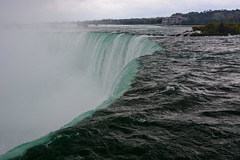 Going over the edge (sarah_presh) Tags: usa holiday cold water niagarafalls waterfall october niagara 2015 nikond7100