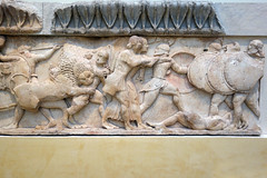 North frieze, Siphnian Treasury