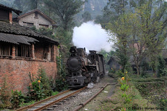 I_B_IMG_9798 (florian_grupp) Tags: china railroad nature beautiful train landscape asia mine railway steam coal leshan sichuan narrow 2010 narrowgauge 762mm shixi jiayang shibanxi
